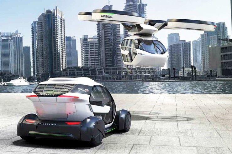 รถยนต์บินได้ AIR CAR