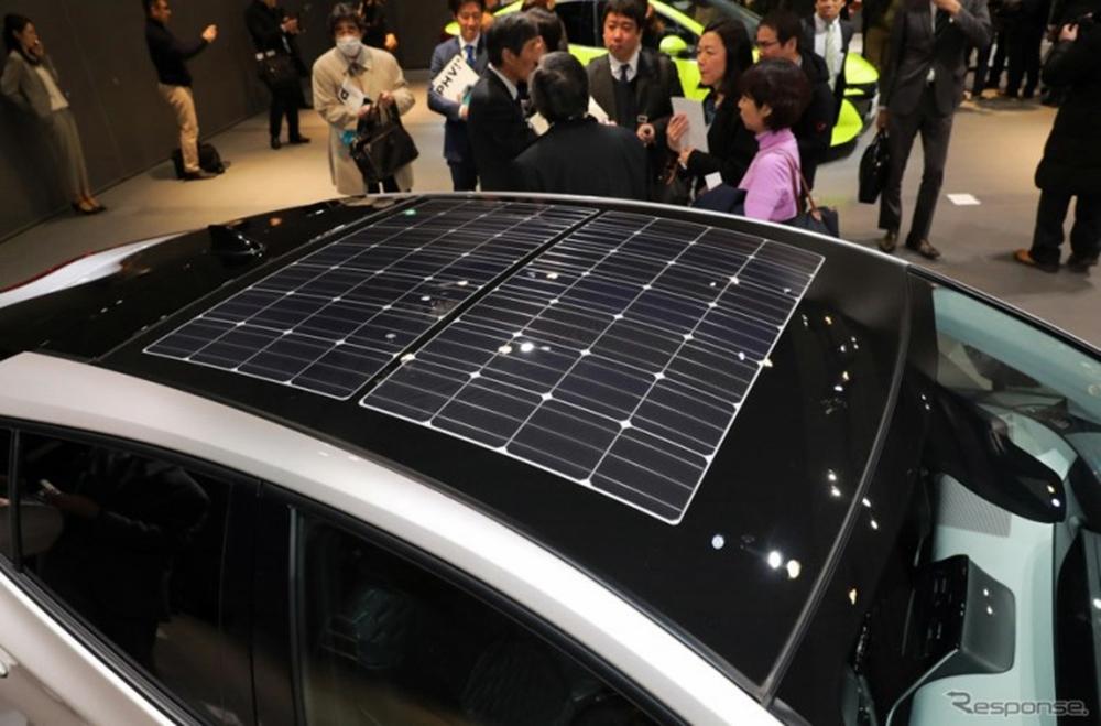 รถยนต์พลังงานแสงอาทิตย์จาก Toyota
