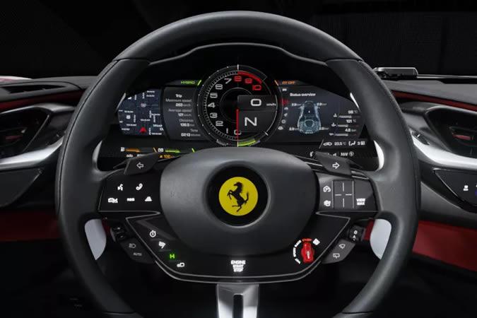 ความเร็วรถยนต์ Ferrari